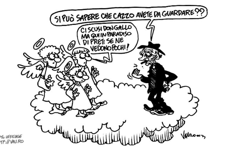 A Genova va di satira la legalità