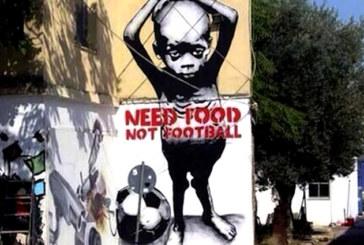 Brasile, la protesta al Mondiale corre sui muri