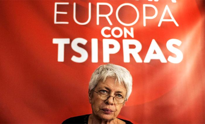 Tsipras, Spinelli sceglie il seggio del centro