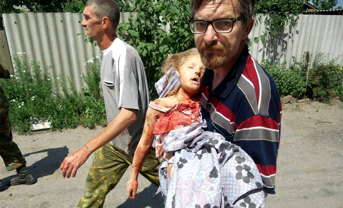 Ucraina, la forza di una foto