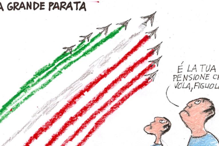 La satira di Apicella: 2 giugno la grande parata