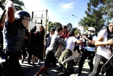 Mondiali in Brasile: primi scontri a San Paolo