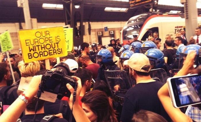 #NoBordersTrain, il diritto d'asilo non ha frontiere