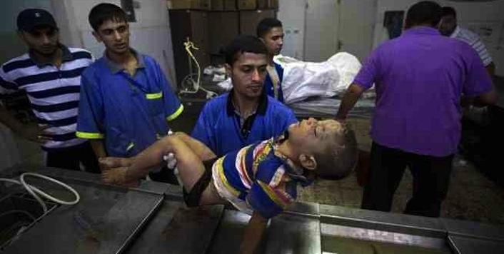 Gaza, fotoracconto di un massacro