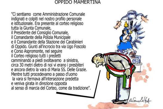 Iron Man, il Papa e Oppido Mamertina
