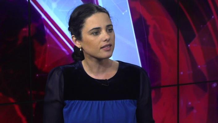 La deputata israeliana dell'ultra nazionalista Partito della casa ebraica, alleato con il premier Benjamin Netanyahu.