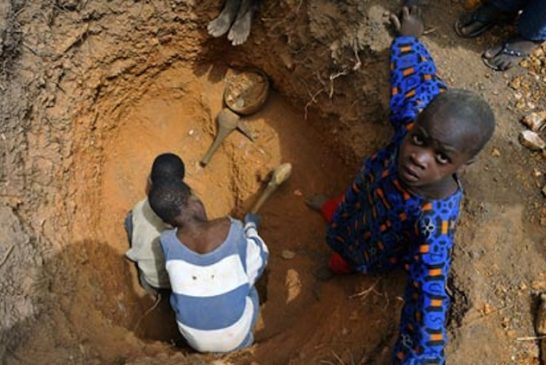 MDG : Mali : child labour and gold mining