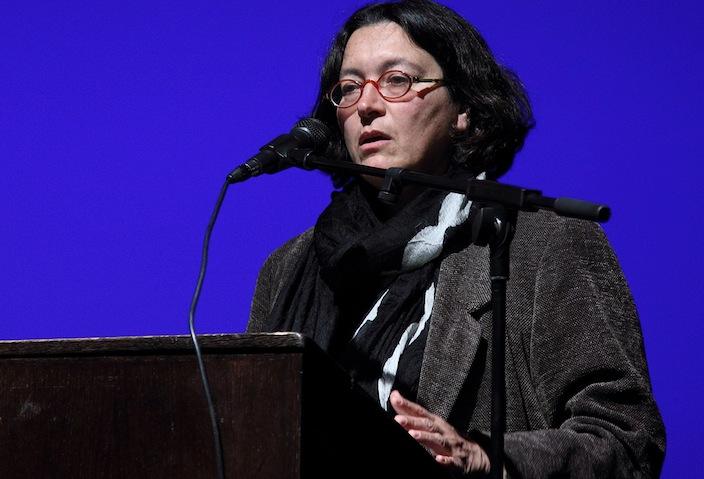 La scrittrice israeliana Amira Haas.