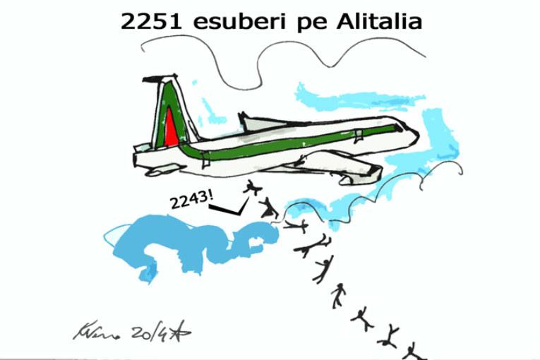 Alitalia, Gioia Tauro e Farage, l'umorismo graffiante di Tiziano Riverso