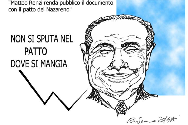 Cristo, il cocktail e le riforme, l'umorismo graffiante di Tiziano Riverso