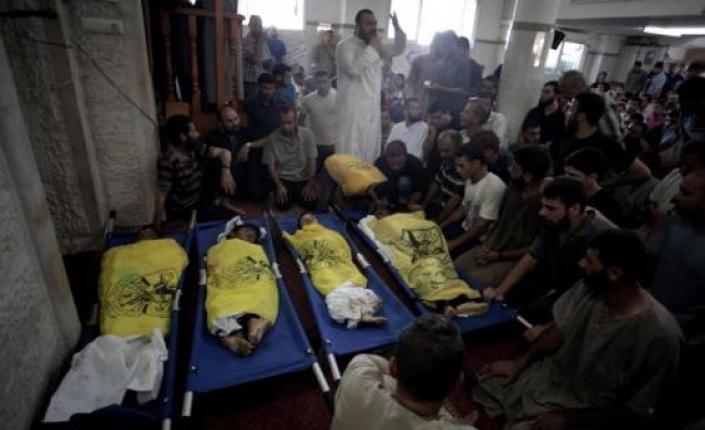 Massacro israeliano sulla spiaggia di Gaza. Uccisi 4 bambini