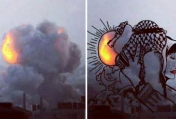 L'arte trasforma i raid su Gaza