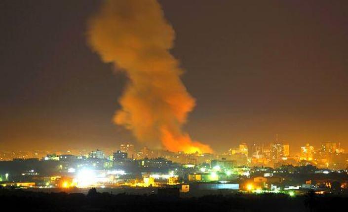 bombe su Gaza