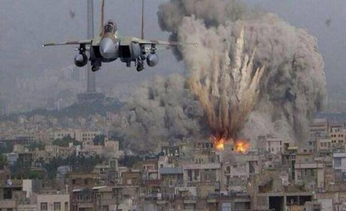 gaza. bombardamento