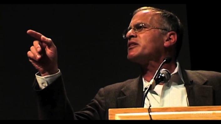 Lo storico e politologo statunitense Norman Gary Finkelstein.