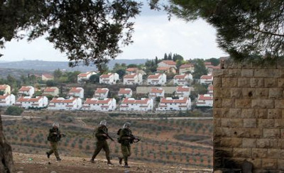 piccolasoldatidiguardia insedianto israeiao in West Bank