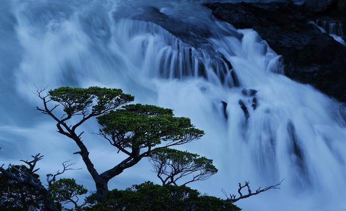 Le cascate del Rio Pascua