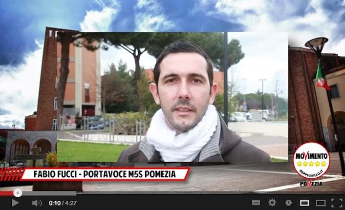 Il sindaco di Pomezia Fabio Fucci.