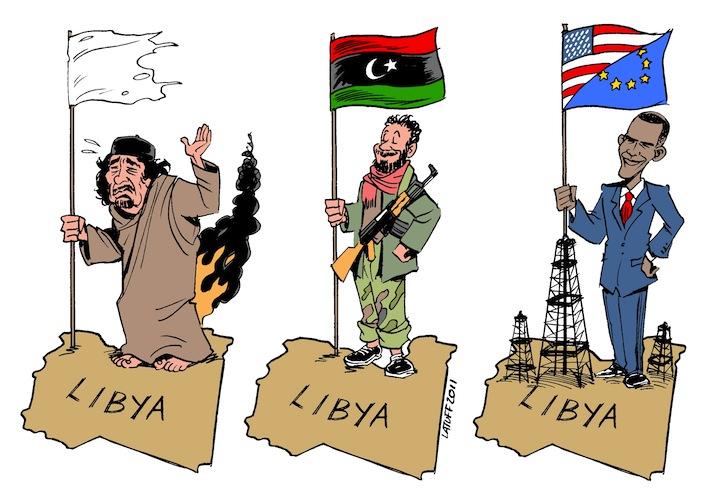 vignetta libia