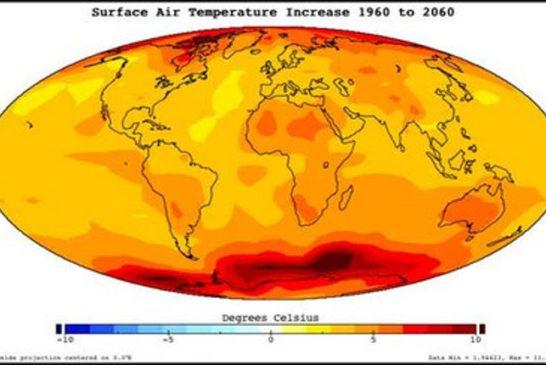 Cambio climatico mappa