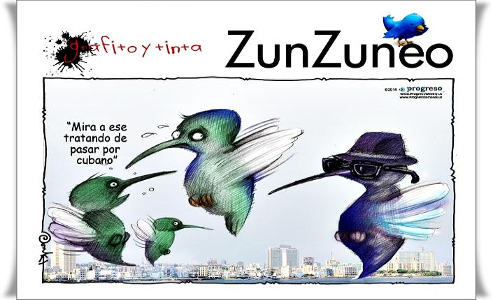 """Umorismo cubano: """"Guarda quello che cerca di passare per cubano!"""""""