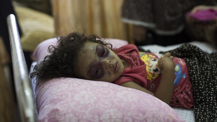 Gaza, Boom! E altri tre bambini non ci sono più