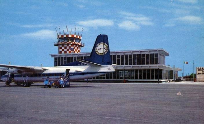 "L'aeroporto ""Gino Lisa""."