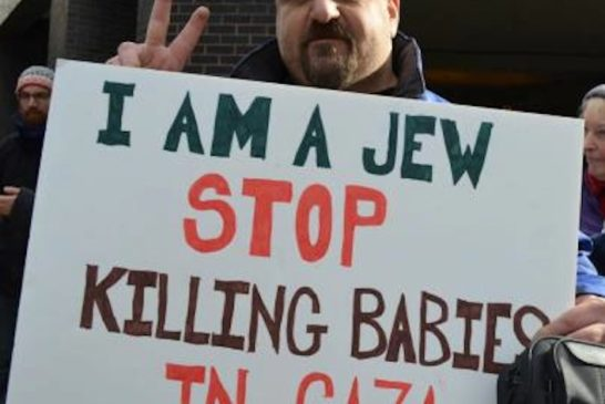 I am a Jew stop killing babies in Gaza