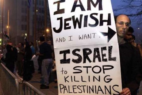 Jews oppose Israel's atrocities against Palestinians, the killings of innocent children in Gaza
