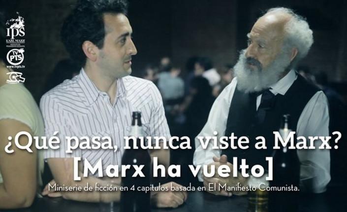 """Un fantasma si aggira per la Rete. """"Marx è tornato"""" e si può incontrare in Internet (video)"""