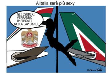 Gelli, l'Alitalia e l'Iraq, l'umorismo graffiante di Tiziano Riverso