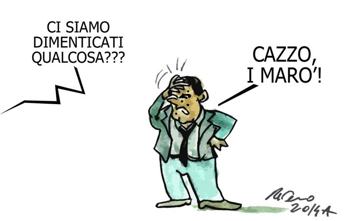 Napolitano, il culo e la mafia, l'umorismo graffiante di Tiziano Riverso