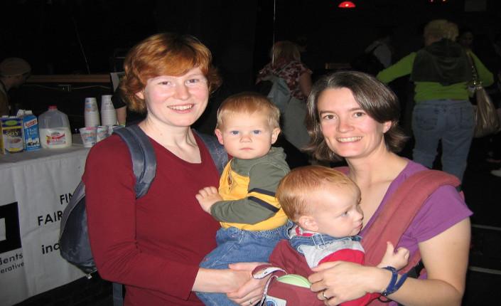 coppia lesbica con figli
