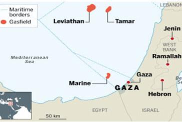 Il gas palestinese dietro l'aggressione di Israele