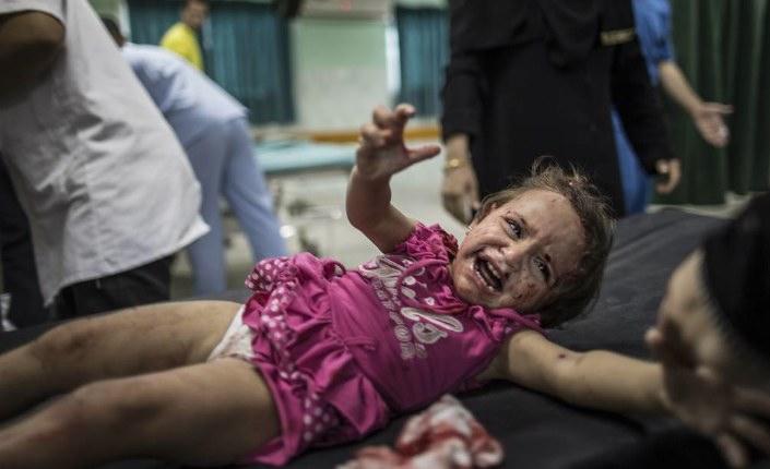 Brian Eno su Gaza: «Come potete giustificare immagini come questa»?