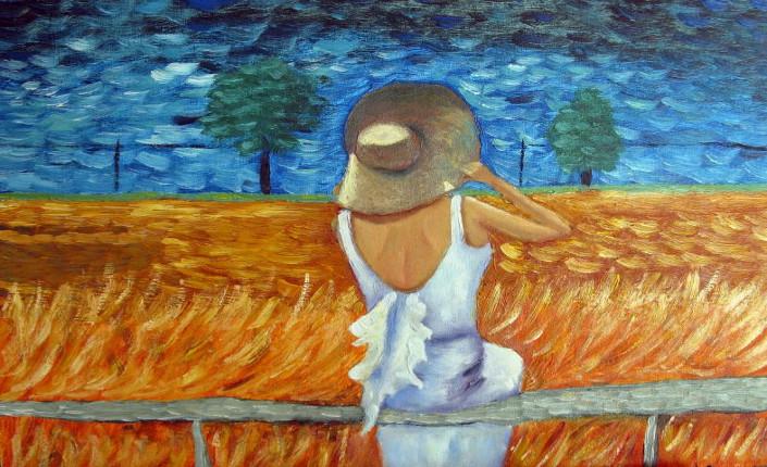 Spalanzino. La donna con il cappello