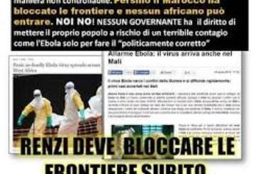 Ebola, sbatti il negro in prima pagina: le infamie dei fascisti italiani