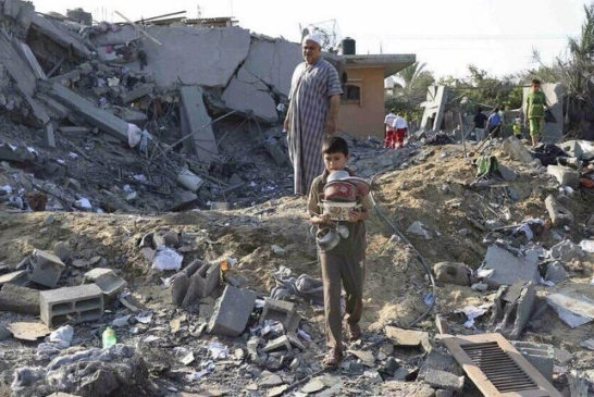 macerie di Gaza 4