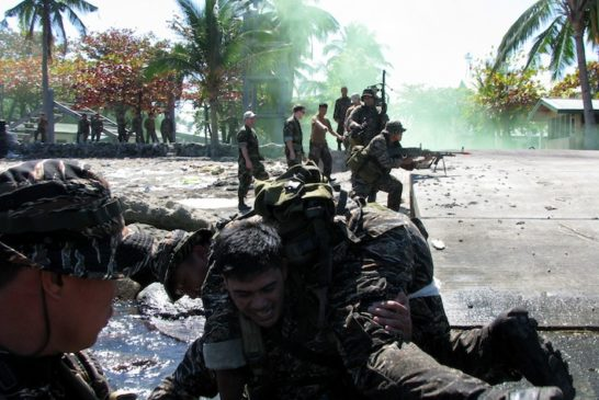 Armed Forces of the Philippines and Joint Special Operations Task Force-Philippines Teach Combat Medic Lifesaving Course