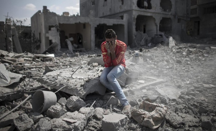 Solitudine e disperazione a Gaza