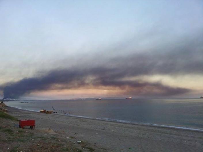 Milazzo, la raffineria brucia ancora