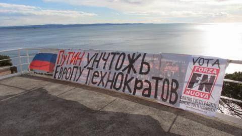 Derby nero in Ucraina: Casapound con Kiev, Forza nuova con Putin
