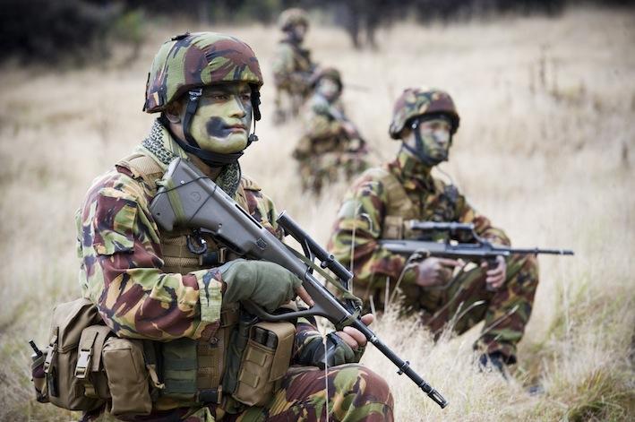Soldati dei corpi speciali britannici Sas.