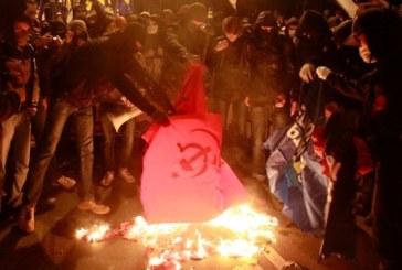 Comunisti perseguitati a Kiev e in Ucraina occidentale (video)