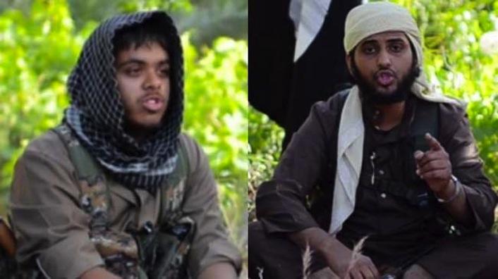 Due cittadini britannici militanti dell'Isil.