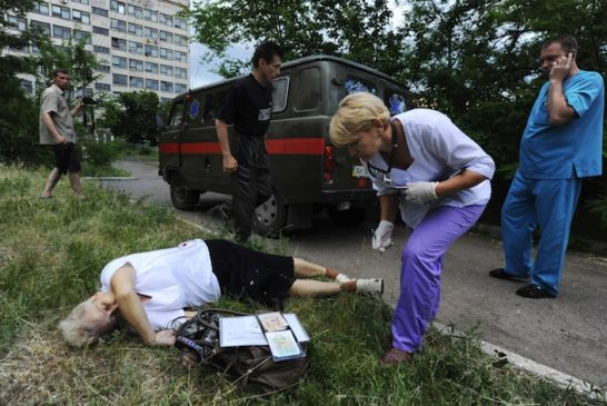 Large.-Lady-killed-in-Slavianks-by-her-home-June-2014