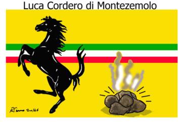 Renzi, la merda e il Furioso, l'umorismo graffiante di Tiziano Riverso