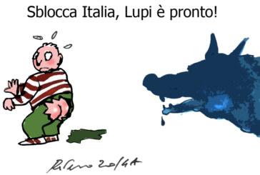 La Scozia, le manette e… Lupi, l'umorismo graffiante di Tiziano Riverso