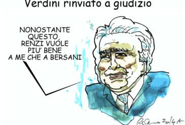 Renzi, Verdini e la giustizia, l'umorismo graffiante di Tiziano Riverso