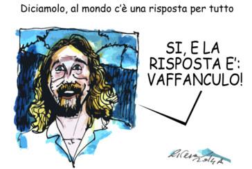 Renzi, Grillo e i preti pedofili, l'umorismo graffiante di Tiziano Riverso